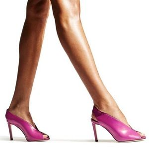 Jimmy Choo Shar 85 magenta pink bootie sandal 6.5